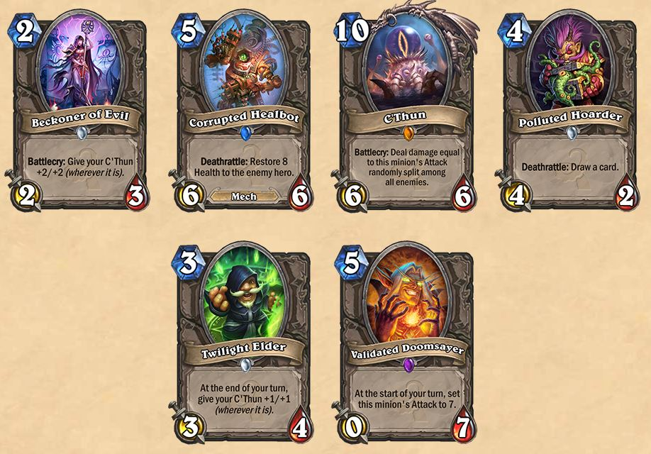 Hearthstone-Whispers-of-the-old-gods-cards